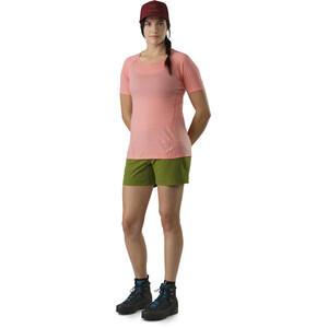 Arc'teryx Lana Lyhythihainen Paita Naiset, vaaleanpunainen vaaleanpunainen