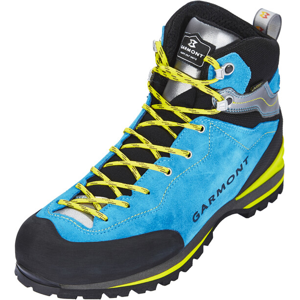 Garmont Ascent GTX Stiefel Herren aqua blue/light grey