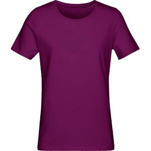 Norrøna /29 Cotton Logo T-shirt Dam dark purple dark purple