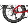 tern Vektron P9 dark red/red