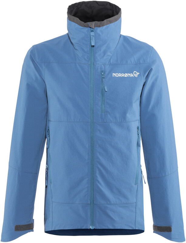 Norrøna Falketind Flex1 Jacket Junior Denimite 128 2018 Softshelljacken, Gr. 12