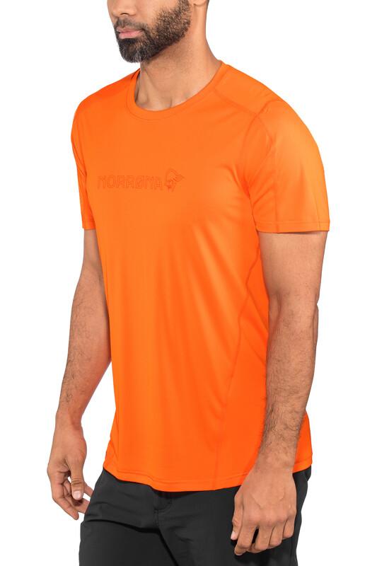 Norrøna /29 Tech T-Shirt Men Scarlet Ibis XL 2018 Sportshirts, Gr. XL
