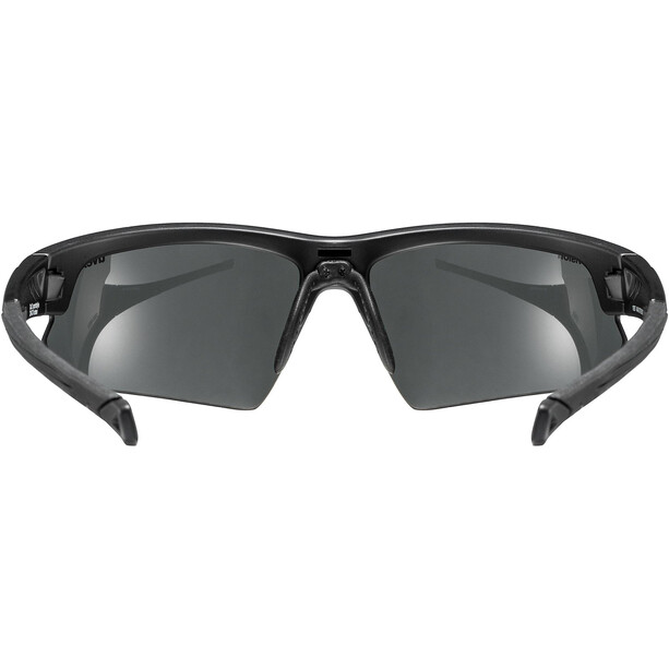 UVEX Sportstyle 224 Colorvision Sportbrille black mat/urban