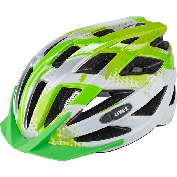 UVEX Air Wing Helm Kinder lime-white