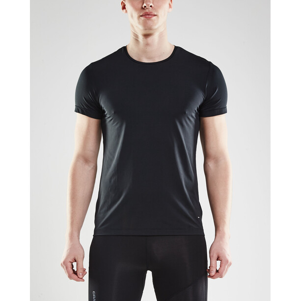 Craft Essential RN SS Shirt Herr black