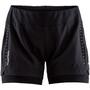 Craft Essential 2-In-1 Shorts Dam black