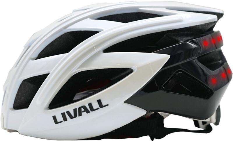 LIVALL BH60SE Multi-functional Helmet incl. BR80 white 55-61cm 2018 Fahrradhelme