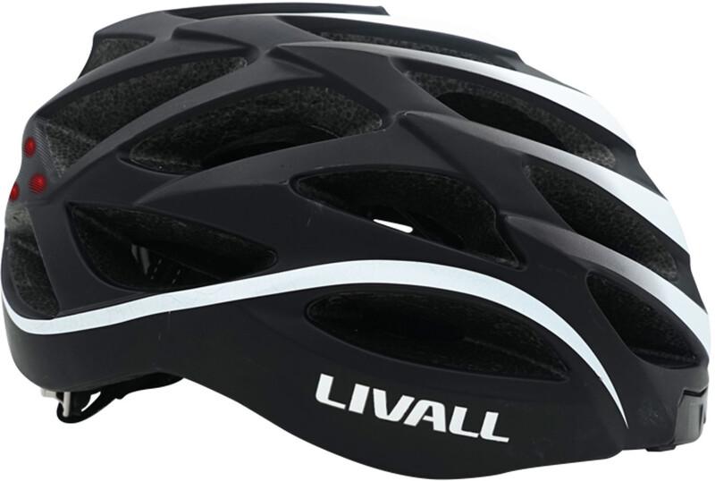 LIVALL BH62 Multi-functional Helmet incl. BR80 black/white 55-61 2018 Fahrradhelme