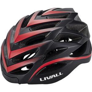 LIVALL BH62 Casque multifonction BR80 inclus, noir/rouge noir/rouge
