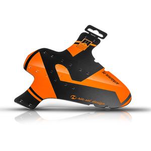 """Riesel Design schlamm:PE Vorderes Schutzblech 26-29"""" orange orange"""