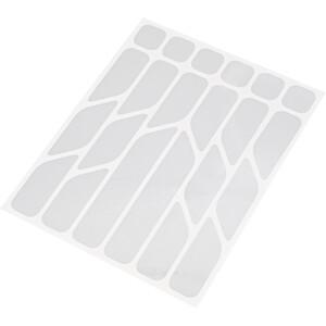 Riesel Design re:flex Reflective Stickers, blanc blanc