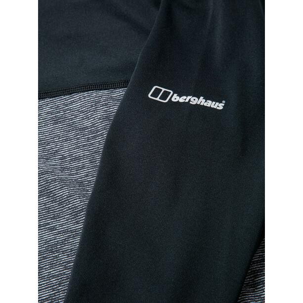 Berghaus Voyager Tech Paita Pitkähihainen Pyöreäkauluksinen Aluskerros Naiset, harmaa/musta