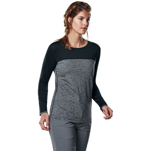 Berghaus Voyager Tech T-Shirt Langarm Rundhals Baselayer Damen carbon marl/jet black carbon marl/jet black