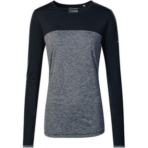 Berghaus Voyager Tech T-Shirt Langarm Rundhals Baselayer Damen carbon marl/jet black carbon marl/jet black