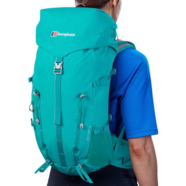 Berghaus Freeflow 25 Rucksack Damen deep green