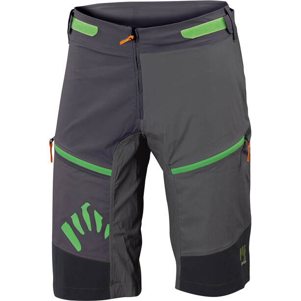 Karpos Rapid Baggy Shorts Herren black/lead grey/dark grey
