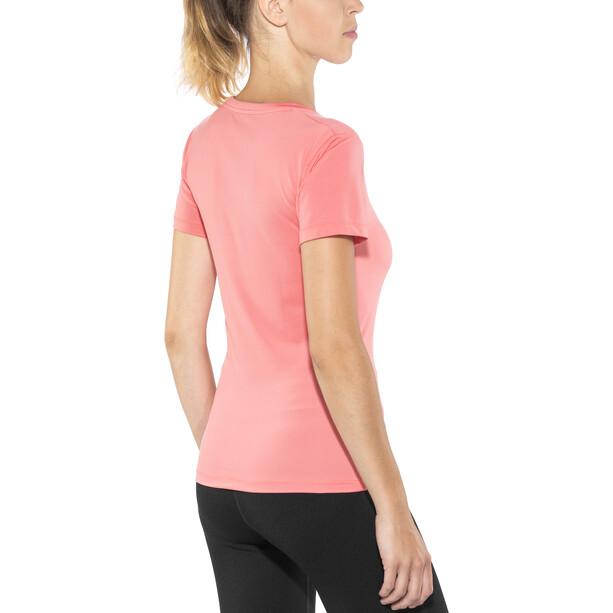Craft Essential V-Ausschnitt Kurzarmshirt Damen dahlia