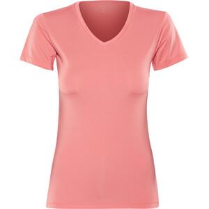 Craft Essential V-Ausschnitt Kurzarmshirt Damen dahlia dahlia