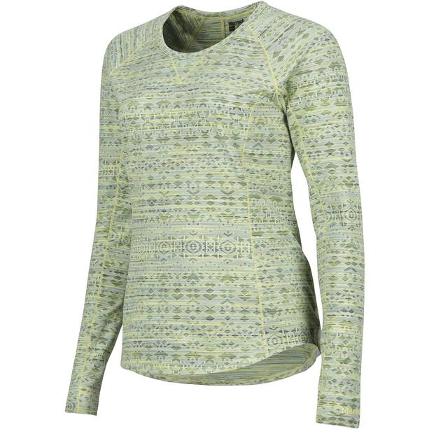 Marmot Sylvie LS Shirt Dam honeydew