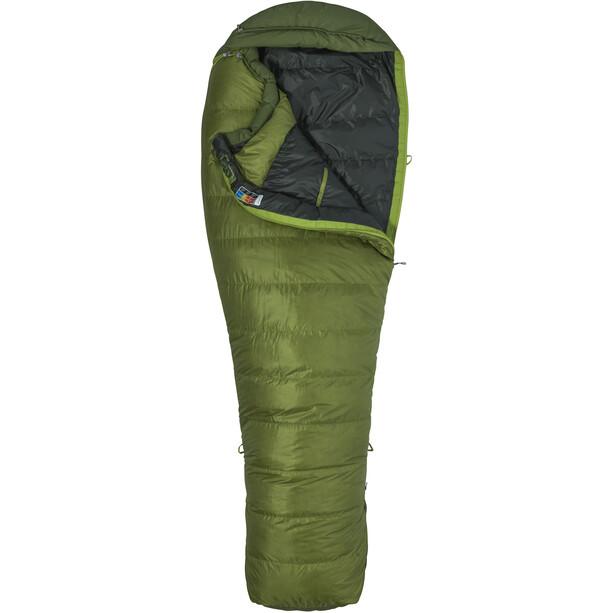 Marmot Never Winter Sleeping Bag Long cilantro/tree green