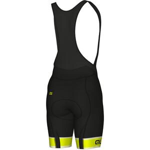 Alé Cycling Graphics PRR Sella Bib Shorts Heren, zwart/geel zwart/geel