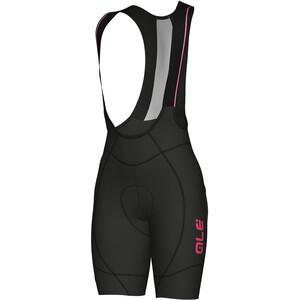Alé Cycling PRR 2.0 Agonista 2 Trägershorts Damen black-fluo pink black-fluo pink