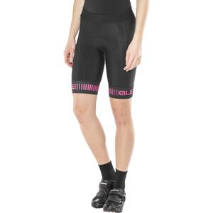 Alé Cycling Graphics PRR Strada Shorts Damen black-fluo pink black-fluo pink
