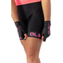 Alé Cycling Solid Traguardo Trägershorts Damen black-fluo pink