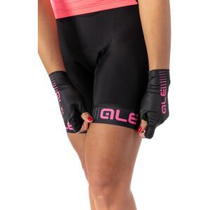 Alé Cycling Solid Traguardo Shorts Damen black-fluo pink black-fluo pink