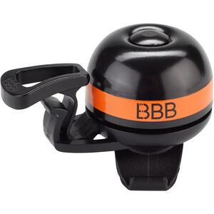 BBB EasyFit Deluxe BBB-14 Sonnette, noir/orange noir/orange