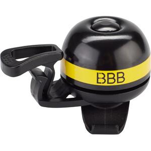 BBB EasyFit Deluxe BBB-14 Sonnette, noir/jaune noir/jaune