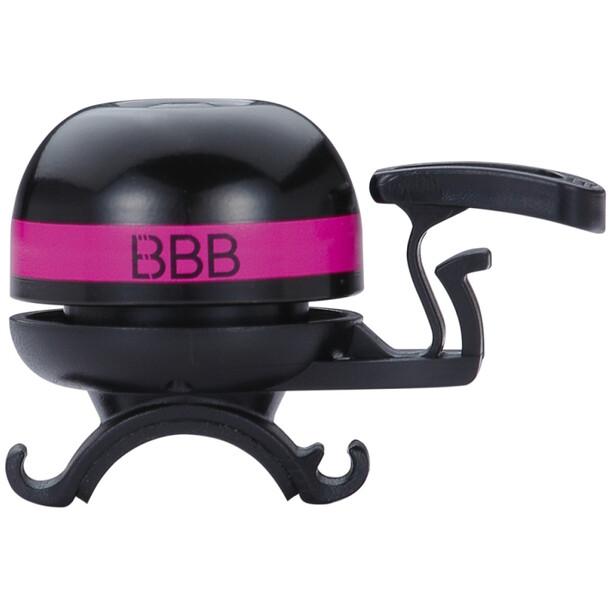 BBB EasyFit Deluxe BBB-14 Klingel schwarz/pink