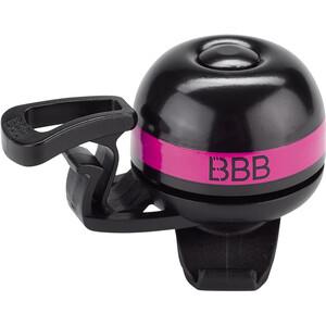 BBB EasyFit Deluxe BBB-14 Sonnette, noir/rose noir/rose