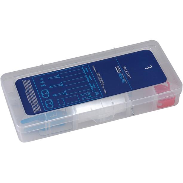 BBB DiscBrake BBS-101 Kit de purge, transparent