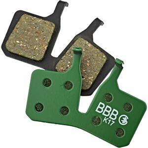 BBB DiscStop E-Bike BBS-371E Bremsbeläge green green
