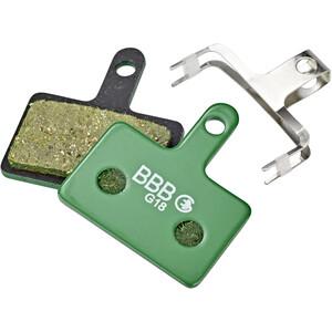 BBB DiscStop E-Bike BBS-53E Jarrupalat, vihreä vihreä