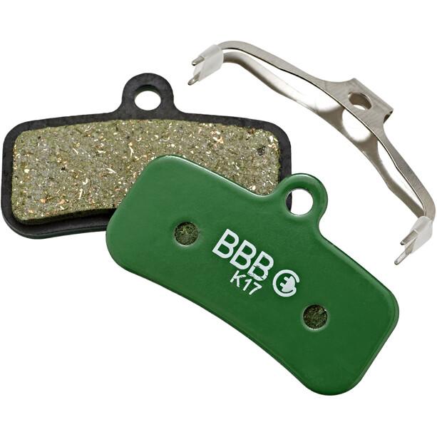 BBB DiscStop E-Bike BBS-55E Bremsbeläge grün