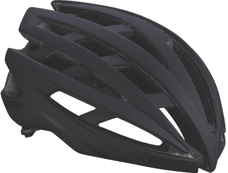 BBB Icarus BHE-05 Helm matt schwarz M 2018 Fahrradhelme