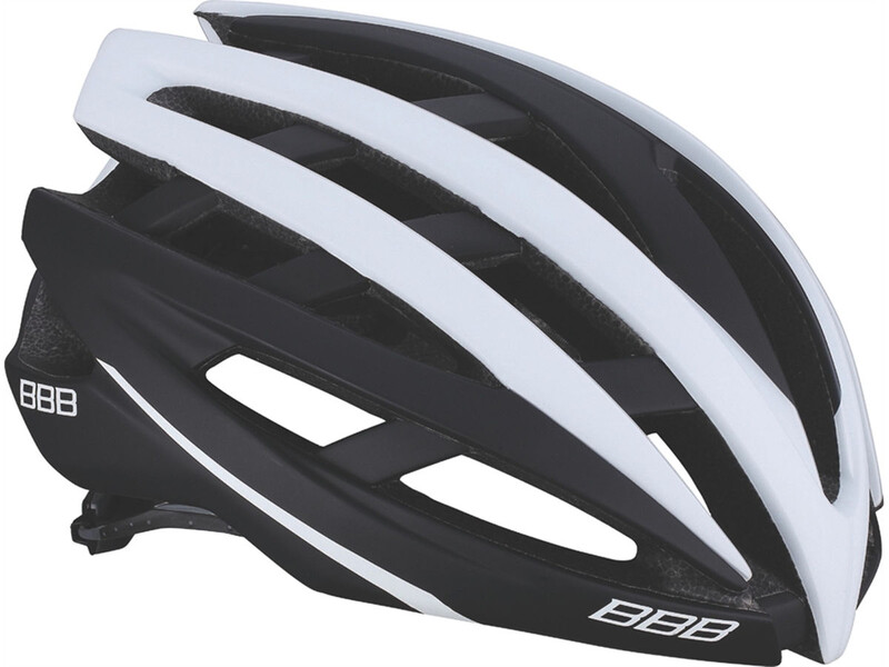 BBB Icarus BHE-05 Helm matt schwarz/weiss M 2018 Fahrradhelme