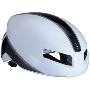 BBB Tithon BHE-08 Casque, glossy white glossy white