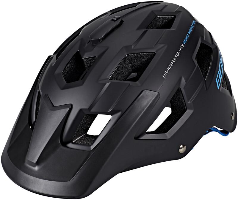 BBB Nanga BHE-54 Helm matt schwarz/blau M 2018 Fahrradhelme