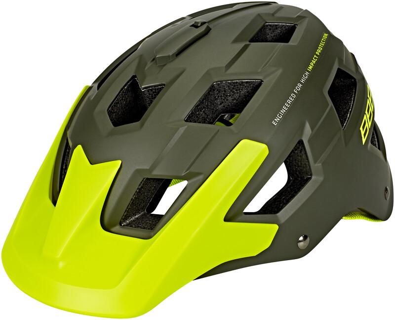 BBB Nanga BHE-54 Helm matt grün/neon gelb M 2018 Fahrradhelme