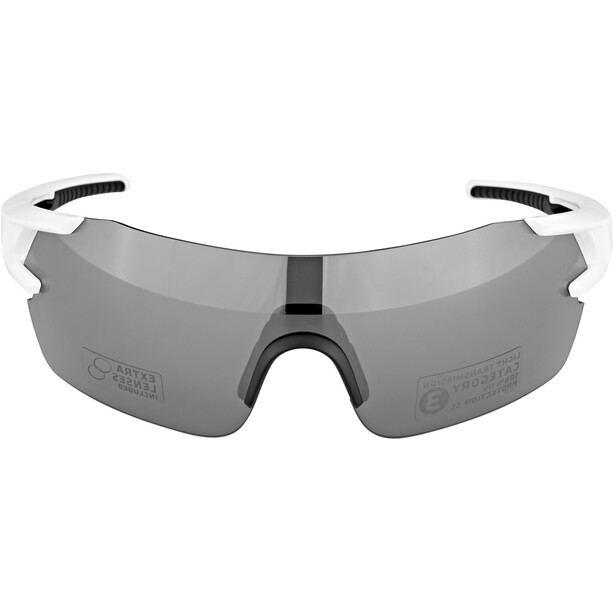 BBB FullView BSG-53 Sportbrille weiß glanz