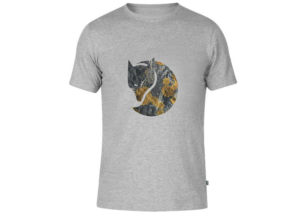 Fj Llr Ven Rock Logo T Shirt Men Grey