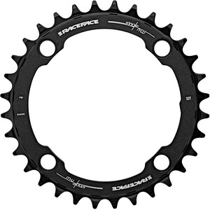 Race Face Narrow Wide Chainring 4-bolt 10/11/12-speed black black