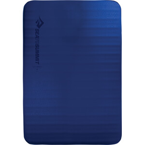 Sea to Summit Comfort Deluxe Self Inflating Mat Double blue blue