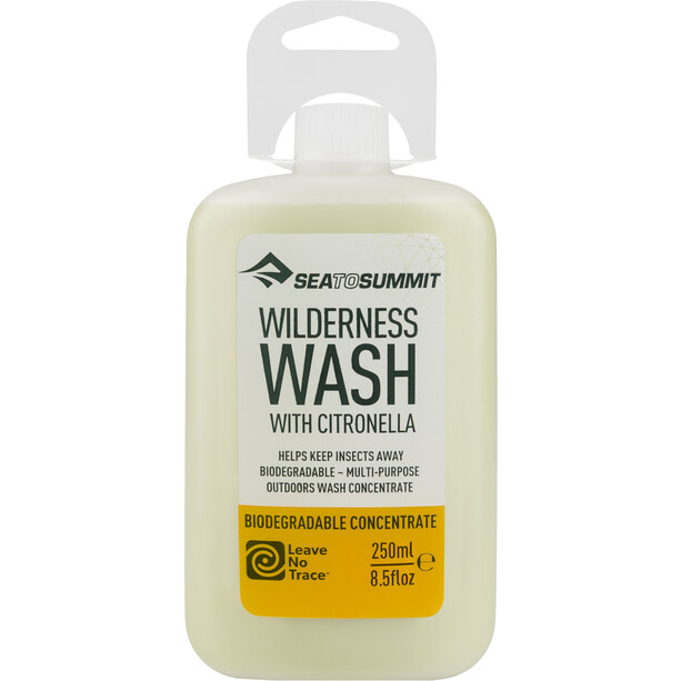 Sea to Summit Wilderness Wash with Citronella 250ml