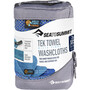 Sea to Summit Tek Towel 2 Wash Cloths cobalt/pacific