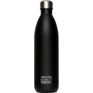 360° degrees Soda Insulated Drink Bottle 750ml black black