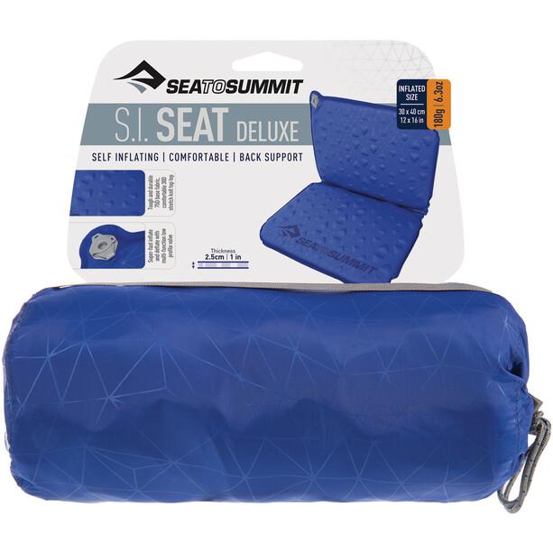 Sea to Summit Self Inflating Delta V Deluxe Sitzkissen indigo